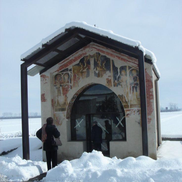 Cappella di San Bernardo a Castelletto Stura (Cn) #Piemonte
