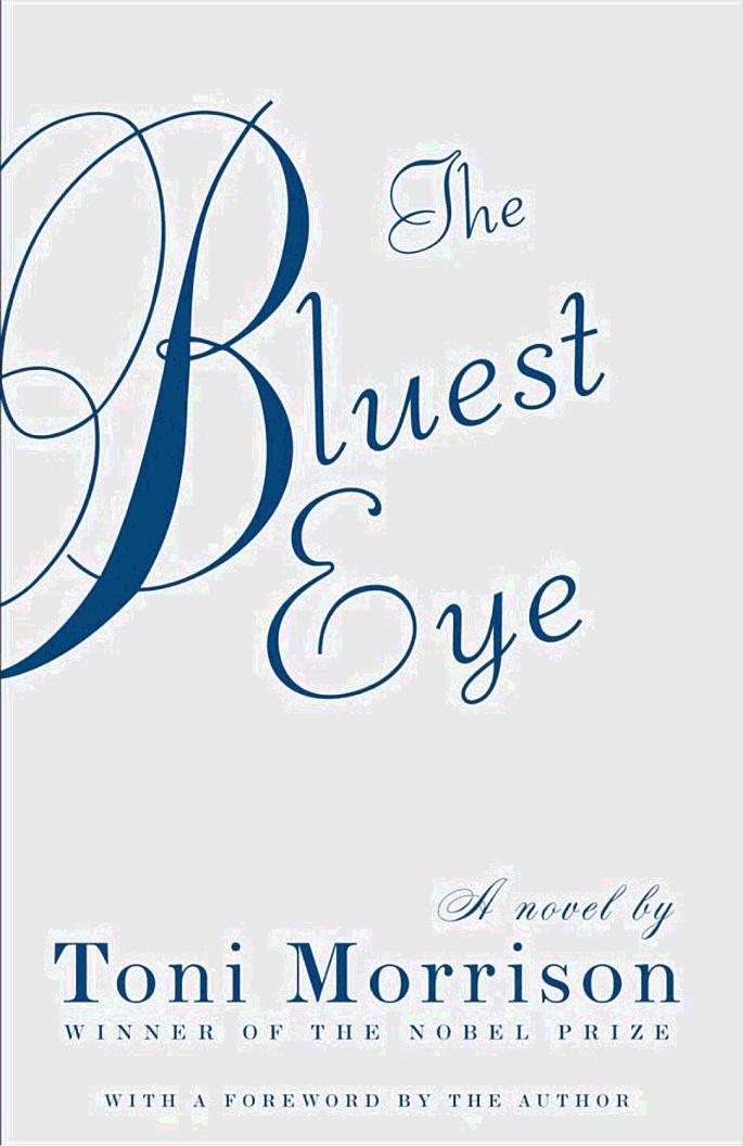 The Bluest Eye - Toni Morrison - | Books I have read ...