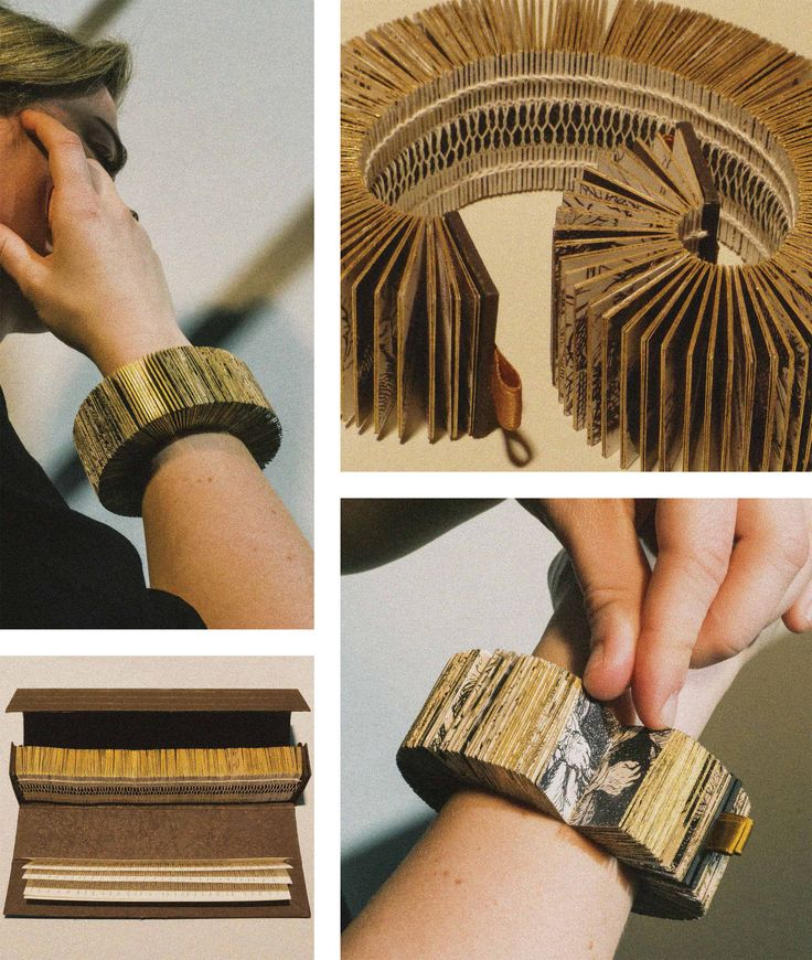 The winners of the 2015 edition of the Rijksstudio Award are Lyske Gais and Lia Duinker. Their design of the Rembrandt Book Bracelet was voted as the best design inspired by the Rijksmuseum's collection.