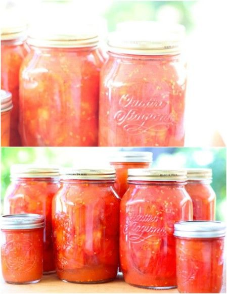 Can Tomatoes without a Canner ~ Top 8 Most Popular Ways to Preserve Tomatoes for Winter