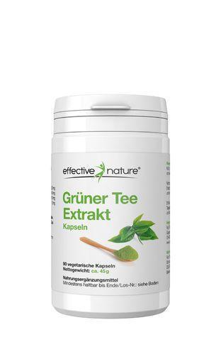 Grüner Tee Extrakt - 90 Kapseln - 45g
