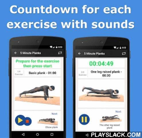 10 Minute Plank Calisthenics  Android App - playslack.com , Becoming and staying fit has never been easier with the help of 10 Minute Plank! It takes only 10 minutes in the morning or in the evening at home or at the office to be in a great shape! The best part? The exercises are simple to perform, do not require any equipment, and therefore, can be done anywhere! NO MORE EXCUSES. We are dedicated fitness professionals and app developers. We strive to make the highest quality products - if…