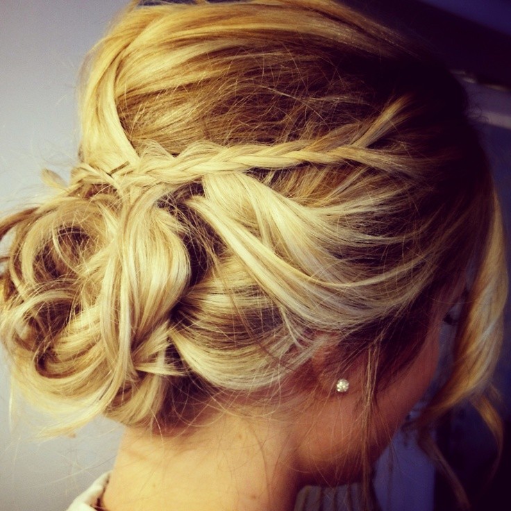 Swell 1000 Images About Blonde Updos On Pinterest Updo Bridesmaid Hairstyle Inspiration Daily Dogsangcom