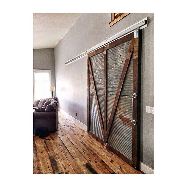 20 best sliding barn doors images on pinterest sliding for Door design with groove