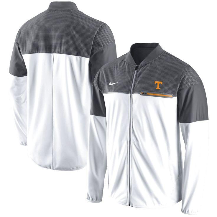 Tennessee Volunteers Nike Flash Hybrid Full-Zip Jacket - White/Gray - $109.99
