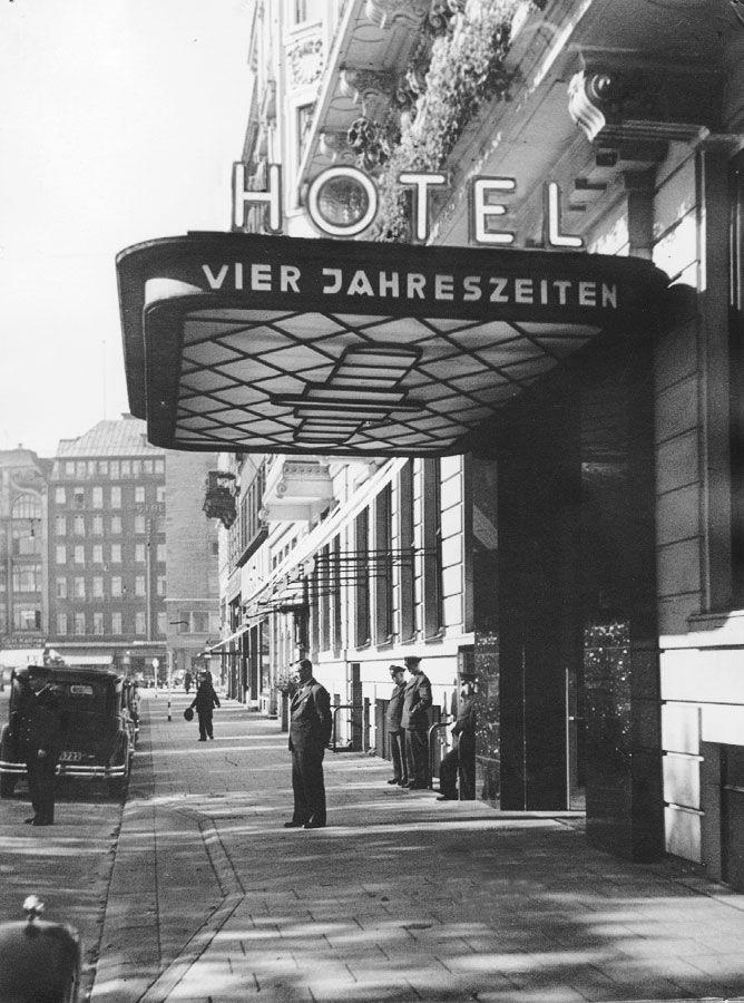 Geschichte Hotel Vier Jahreszeiten Hamburg - Luxus Hotel Hamburg - Fairmont…