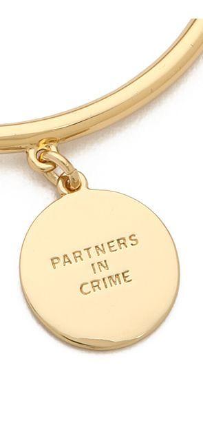 partners in crime bracelet