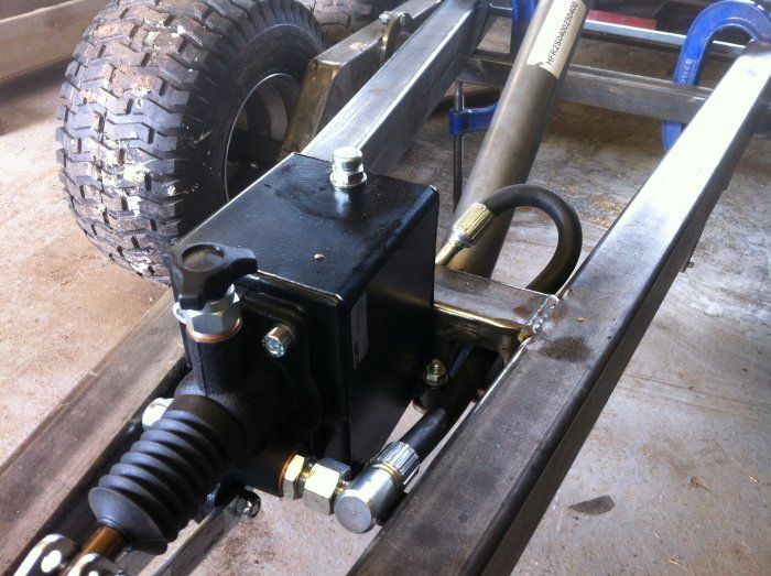 ATV trailer. tandem/walking axles | MIG Welding Forum