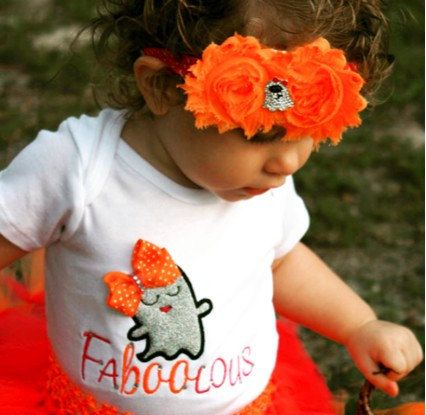 Ghost tutu Baby Ghost tutu Ghost Costume-Girls Ghost by SewsnBows