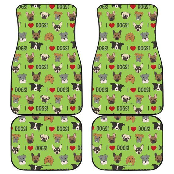 I Love Dogs Spring Collection Richmond Spca Green Car