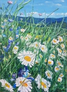 Vôňa jari, 50x80