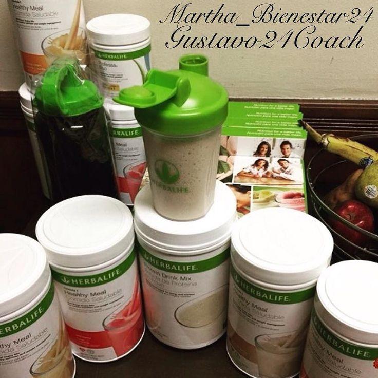 """""""Desayuno Saludable en 3 pasos""""  1-Paso #Aloe Herbal: -HIDRATACION Y LI simples MPIEZA. Limpia Cicatriza Hidrata Purifica Desinflama  EL ESTRACTO DIGESTIVO.  2-Paso #Te Herbal: -ENERGIA Y RENDIMIENTO Quema Grasa Provee Energia Acelera el proceso Metabolico Fuerte Antioxidante Ayudar a calmar por completo la ansiedad entre comidas.  3-Paso #Batido Nutricional #Herbalife #Formula1: -NUTRICION EQUILIBRADA A BASE DE PROTEINAS Y MICRONUTRIENRES. Hecho a base de proteina dr soya 1gr de Grasa Omega…"""