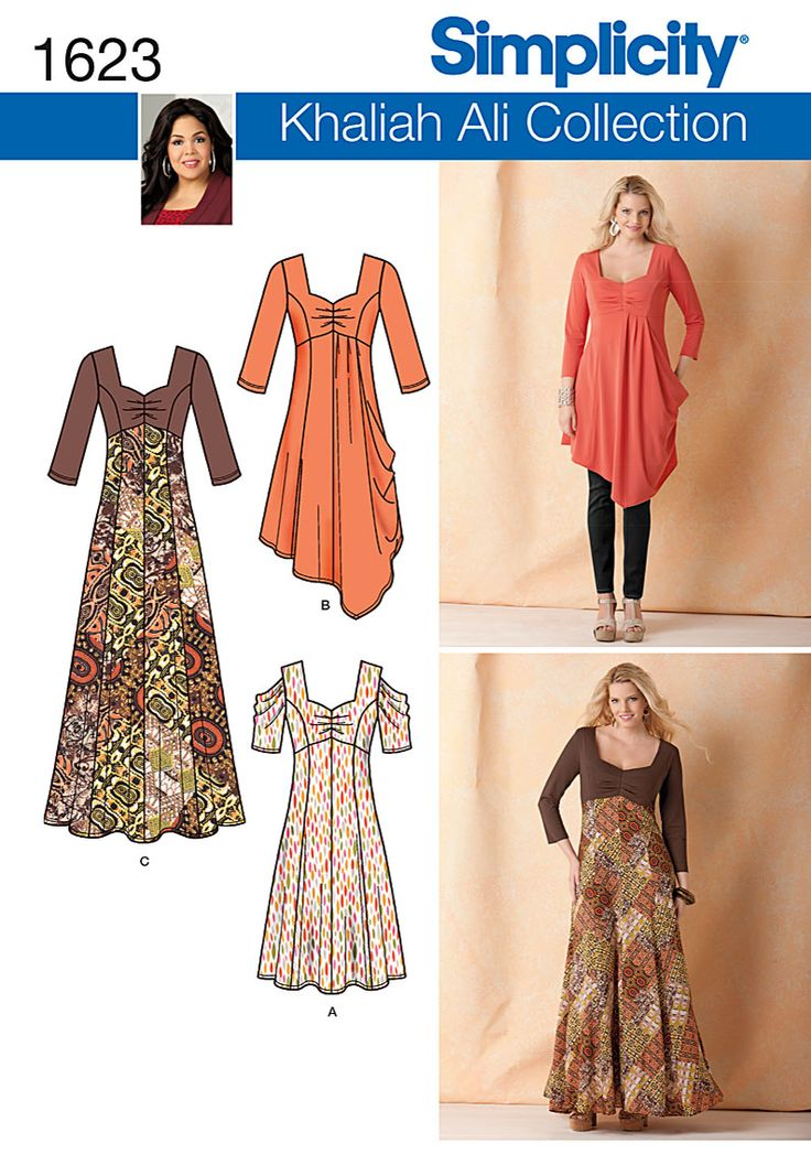 1623 - Plus Sizes - Simplicity Patterns