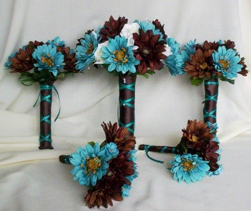 Google Image Result for http://www.artfire.com/uploads/product/6/76/14076/4414076/4414076/large/bridal_bouquet_turquoise_chocolate_brown_silk_flowers_c5b01df9.jpg