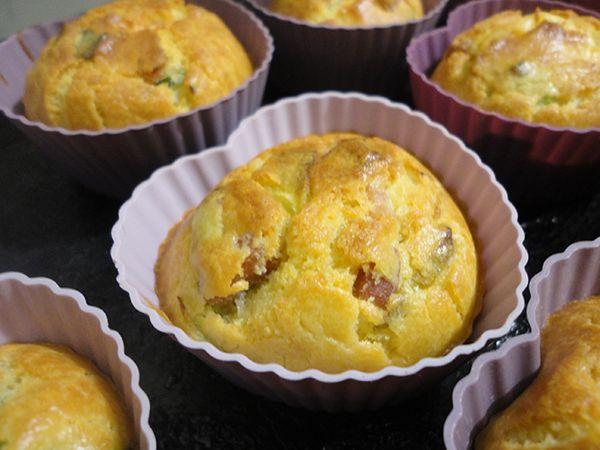 Muffins salés poireaux / cumin | L'heure du thé
