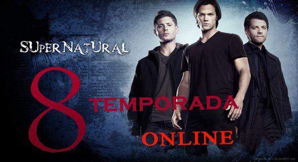 Assistir Supernatural 8 Temporada Dublado Online
