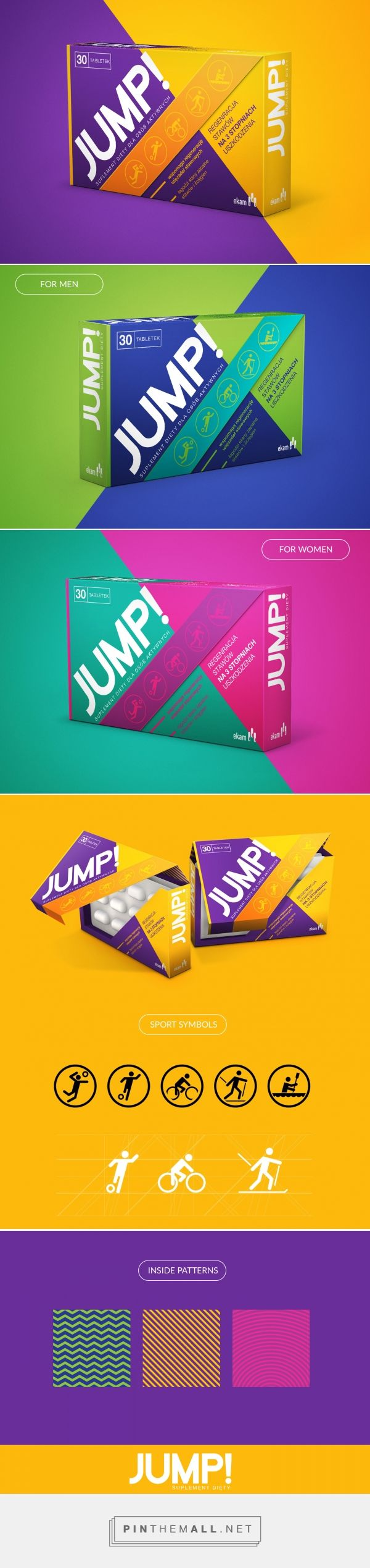 Jump! Joint Health (Concept) - Packaging of the World - Creative Package Design Gallery  - http://www.packagingoftheworld.com/2016/10/jump-joint-health-concept.html