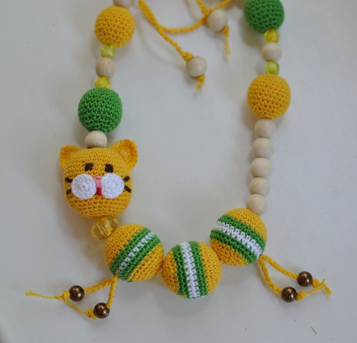 Слингобусы Baby's toy - Necklace with cat
