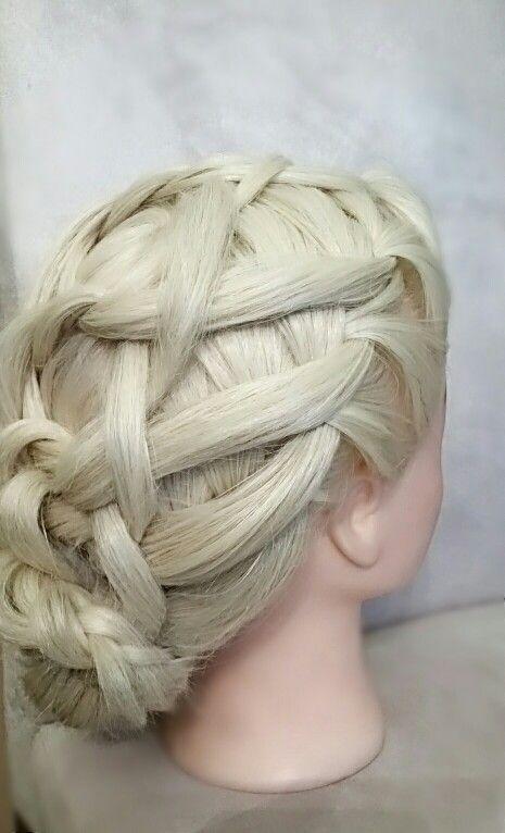 Braid#hajfonàs #hairstyle #beautyhairstyle #exluziv #SarkadyLivia #weddinghairstyle #weddinghair #esküvőihaj #alkalmi #menyasszonyihaj #braid