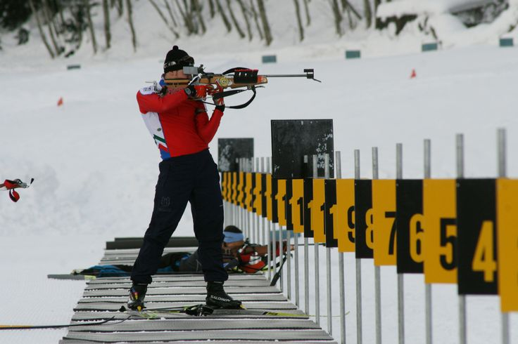 The Biathlon centre in Valdidentro has 30 electronic shooting lines and every year it hosts national competitions.    #Biathlon #Valdidentro #Winter