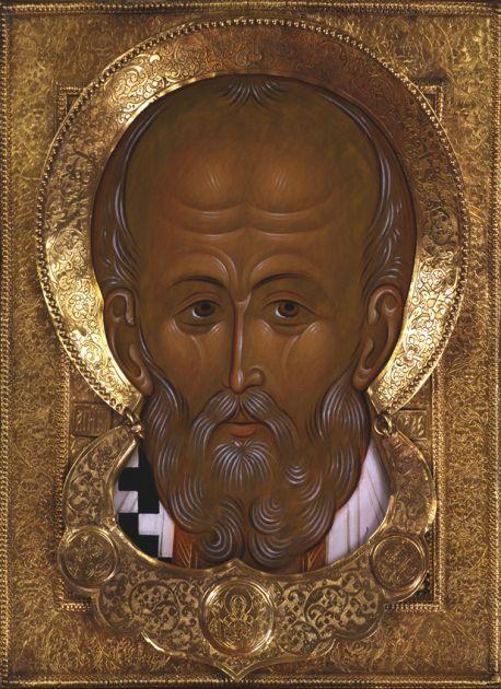 Икона свт. Николай Мирликийский