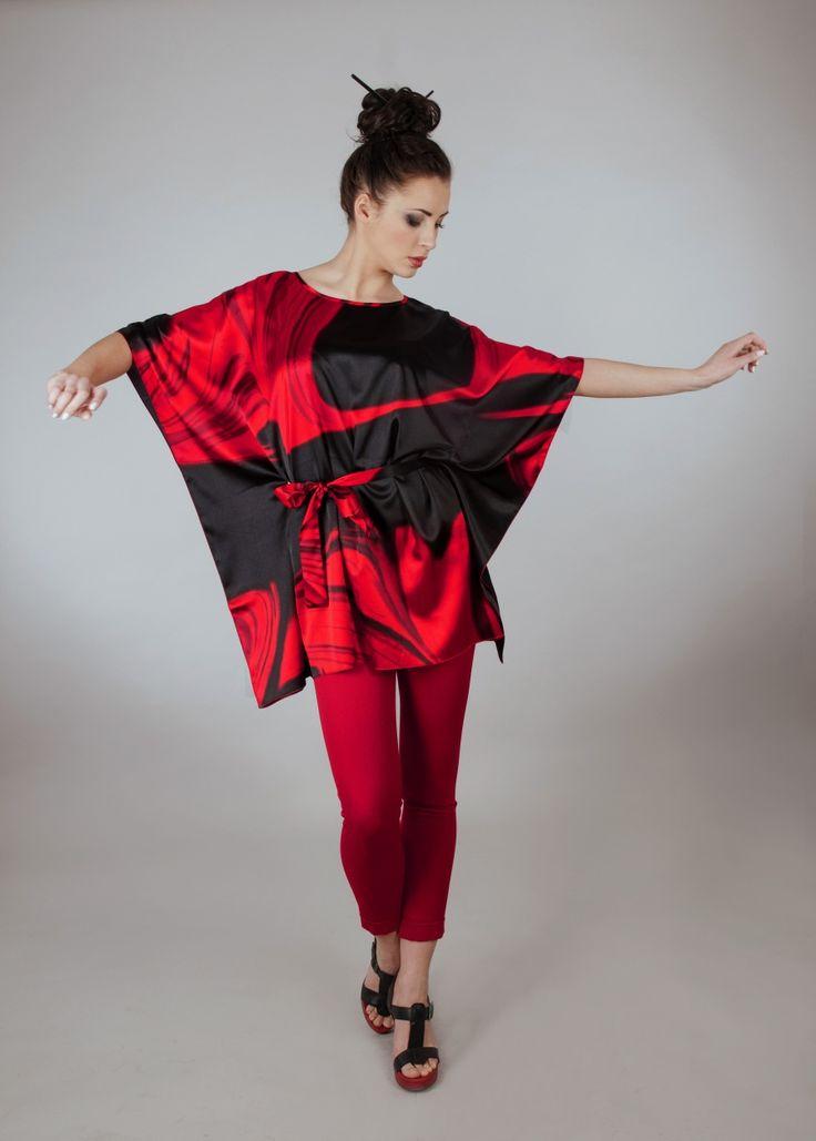 The Red tunic of Adora LA BELLEZA [ ZebrasBOX ]