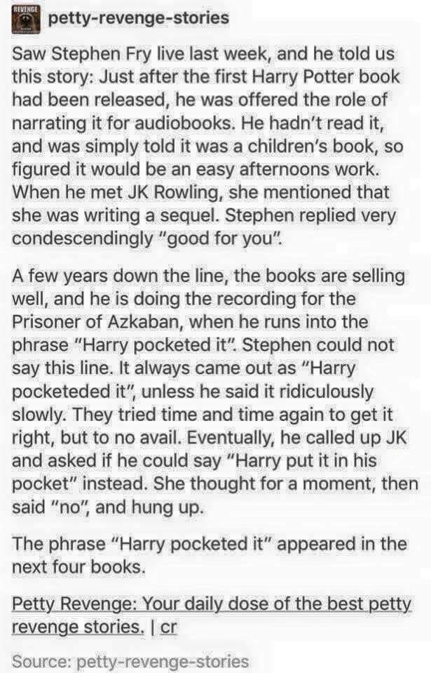Harry Potter: J.K's Revenge