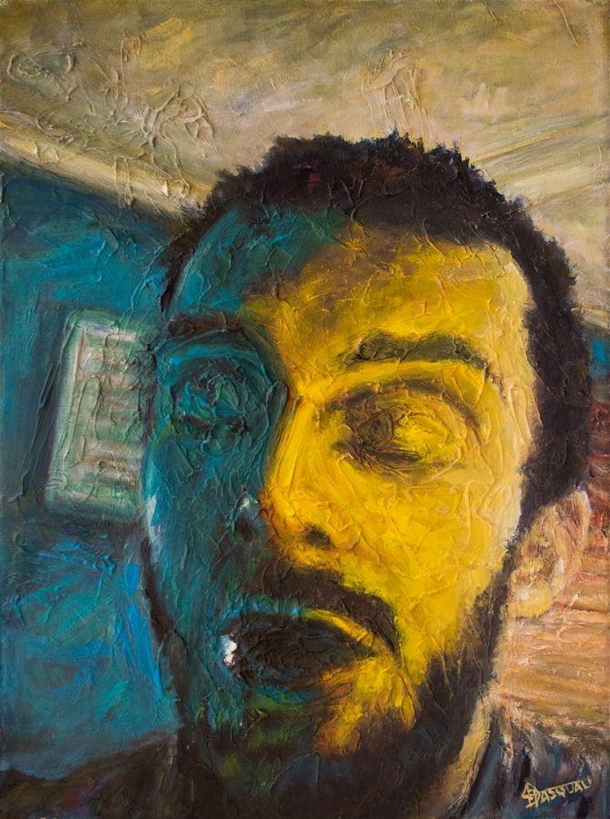 Self portrait progress shot