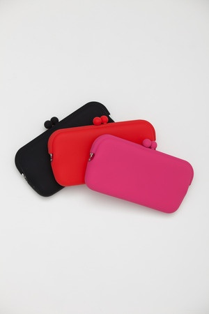 Ikuyo Ejiri - Red Hachi Clutch: Hachi Clutches, Small Clutches, Products, Red Hachi, Ikuyo Ejiri