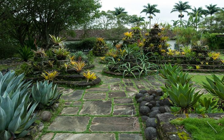 Gardens of Roberto Burle Marx: Vargem Grande, Areias, Brazil, 1979. 1979.