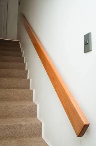 Resultado de imagen para pasamanos de madera mmmmm for Como hacer una escalera de madera economica