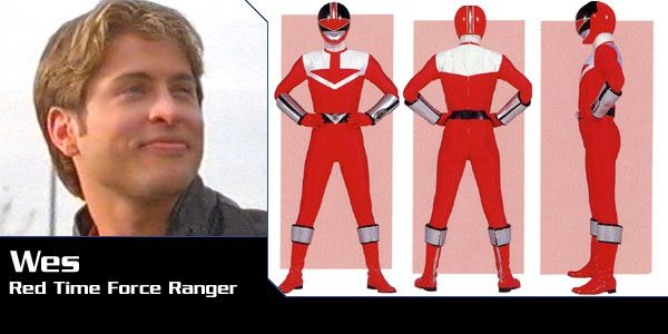 Wesley Collins (Red Time Force Ranger) - Power Rangers Time Force | Power Rangers Central