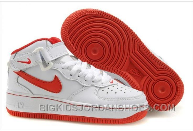 http://www.bigkidsjordanshoes.com/hot-nike-air-force-1-high-kids-white-red.html HOT NIKE AIR FORCE 1 HIGH KIDS WHITE RED Only $85.00 , Free Shipping!