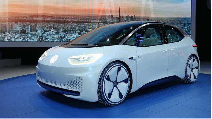 Weltpremiere in Paris | Voilà! Hier kommt der E-VW http://www.bild.de/auto/auto-news/volkswagen/eroeffnet-neues-elektro-zeitalter-mit-id-48041148.bild.html