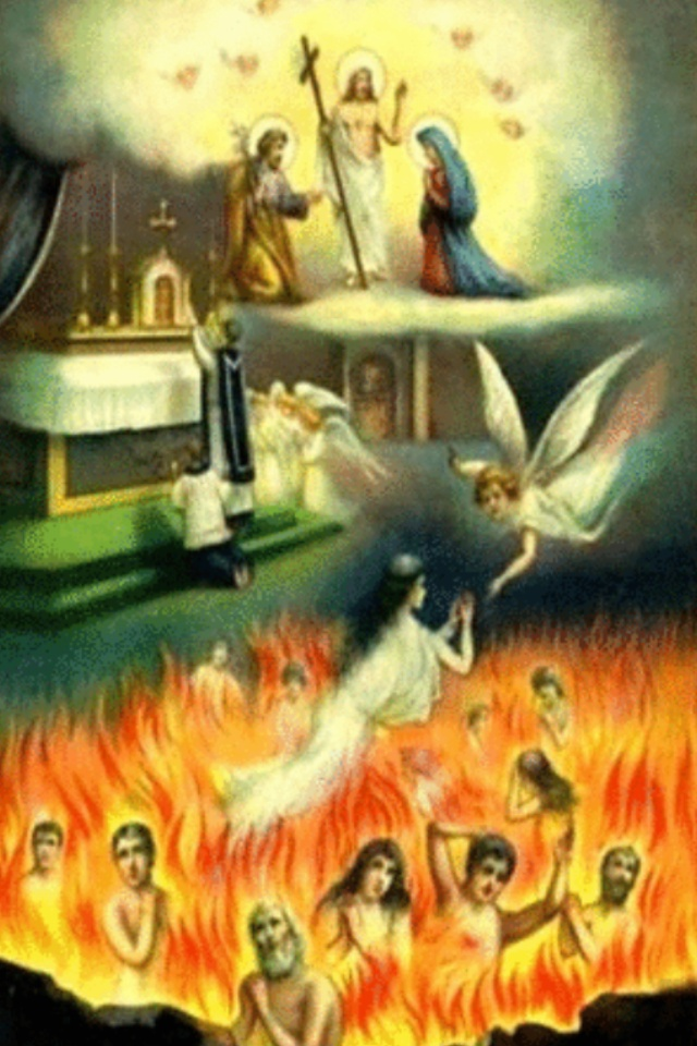 Poor Souls in Purgatory www.catholicity.com/catechism/purgatory_and_hell.html