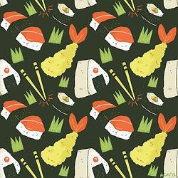 Sushi design.