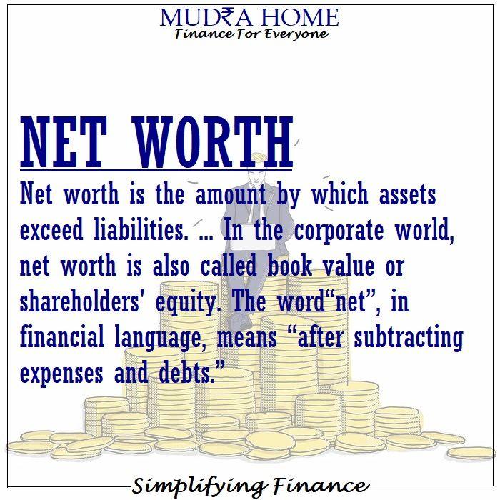 Net Worth Simplifyingfinance Instant Loans Online Personal Loans Instant Loans