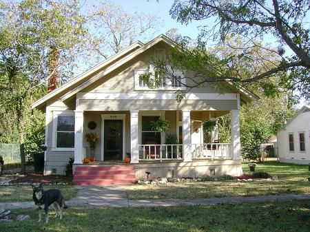 1917 craftsman bungalow temple tx year 1917 for Craftsman homes for sale in texas