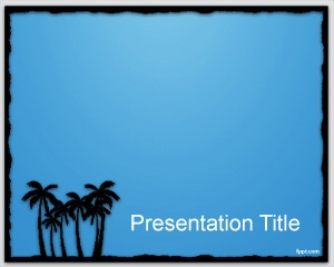 37 best travel powerpoint templates images on pinterest plants border light powerpoint template is a free cute powerpoint template background with palms in the slide toneelgroepblik