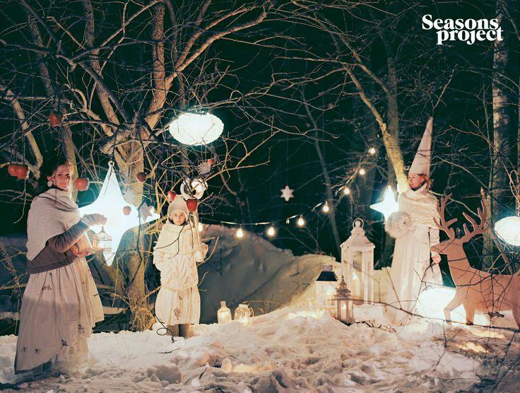 Seasons of life №12 / November-December 2012 issue. Christmas #seasonsproject #seasons #mood #decor #nature #snow #christmas #idea