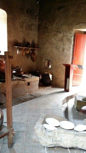 Típica cocina. Quinta de Bolívar.