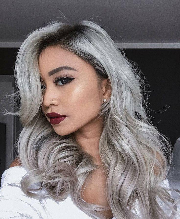 Colored Platinum: Best 25+ Silver Hair Dye Ideas On Pinterest