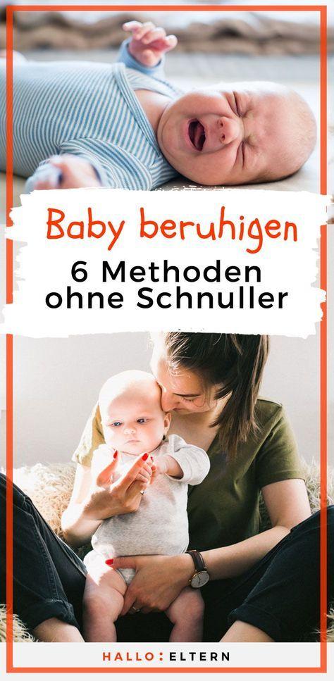 Ruhiges Baby: 6 Methoden zum Trösten   – Kinder Kinder