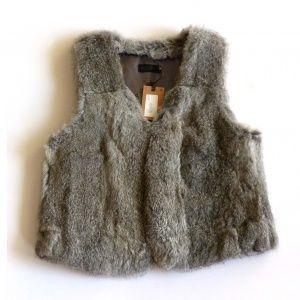 gilet sans manches #chaleco #vest #fur IKKS