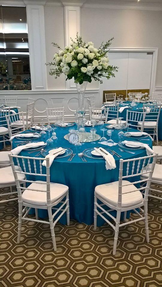 Tiffany Blue wedding done by Ruby Rain decor