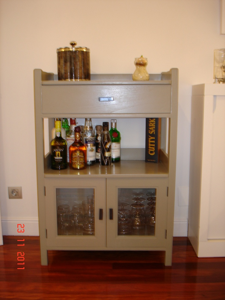 Detalle del Mueble Bar.