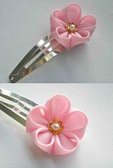 hairclip 2 | por Kitty Kanzashi Designs