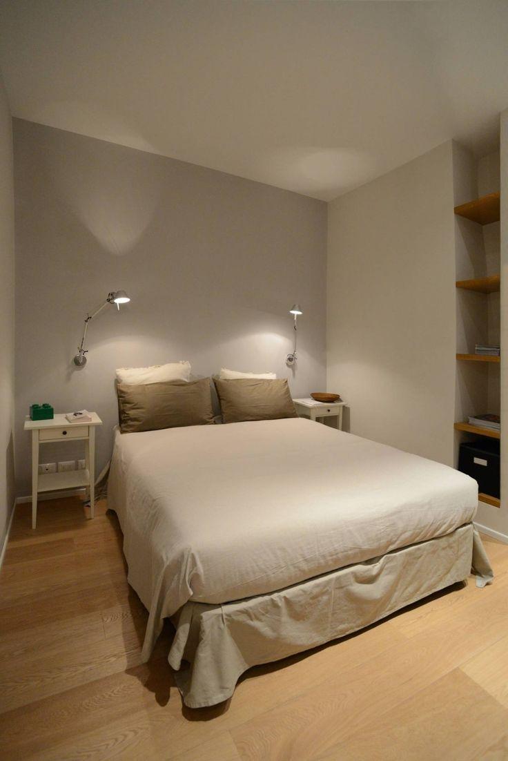 Ispirazione nordica : Camera da letto minimalista di ministudio architetti