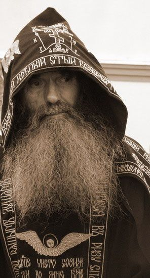 Russian Orthodox monk - in the world, but not of the world