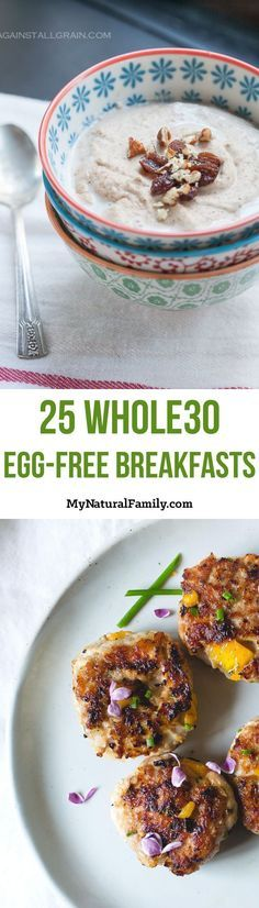 I get sooo sick of having eggs for breakfast every morning so I was excited to find this post with lots of Whole30 breakfast ideas without eggs. I love how every recipe has an image with a link to get the recipe.